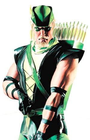 Tags:alex ross, general, Green Arrow, justice league, tattoo, writing